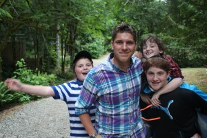 shawn with campers