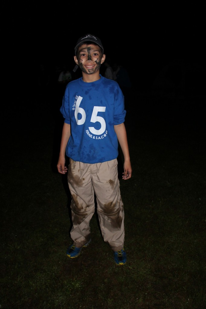 JoJo Gladstein after his Chayal In Training Program.